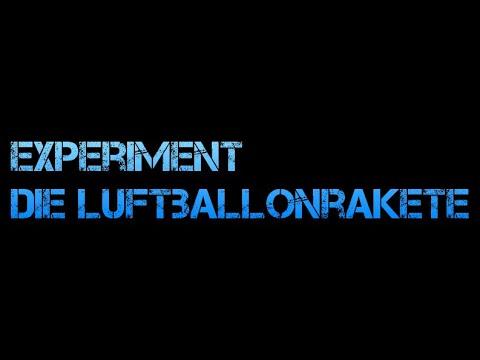 Experimente - Die Luftballonrakete